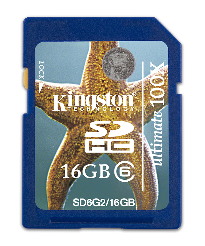 Kingston Technology 16GB SDHC 16384 MB Secure Digital High-Capacity (SDHC) 15 MB/s 24 mm 32 mm 2.1 mm